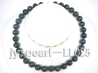 12mm deep blue round Lapis-lazulis Necklace LL025
