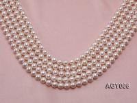AAAAA 8.5-9mm White Akoya Pearl String AGY006
