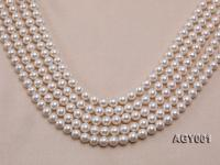 AAAAA 9-10mm White Akoya Pearl String AGY001