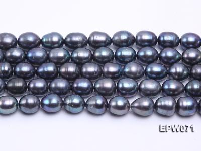 Wholesale 12x14mm Peacock Rice-shaped Freshwater Pearl String EPW071 Image 1