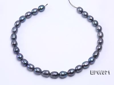 Wholesale 12x14mm Peacock Rice-shaped Freshwater Pearl String EPW071 Image 3