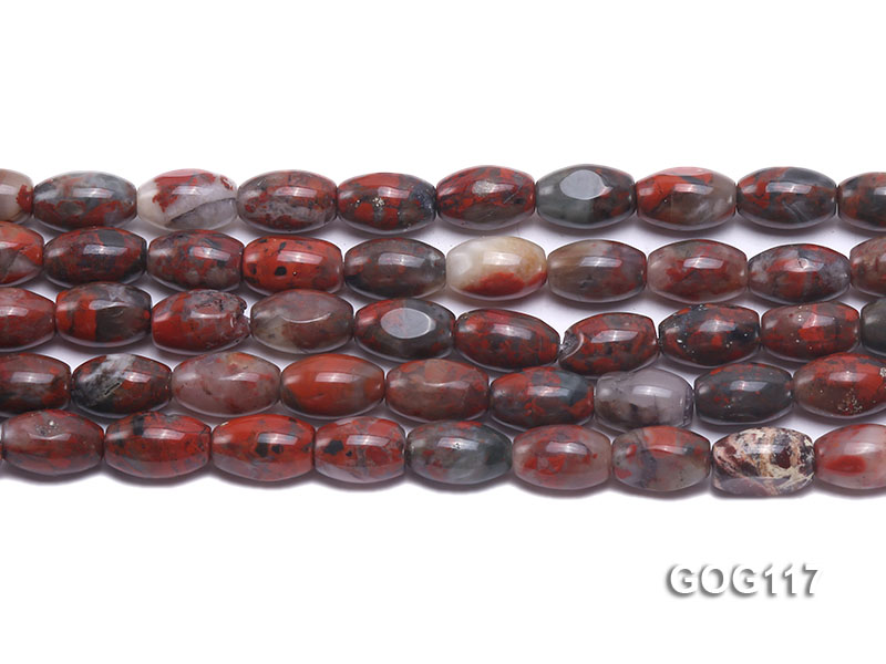 Wholesale 8x12mm Oval Gemstone String big Image 2