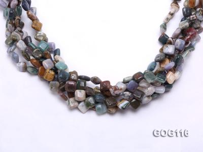 Wholesale 8mm Colorful Square Gemstone String GOG116 Image 3