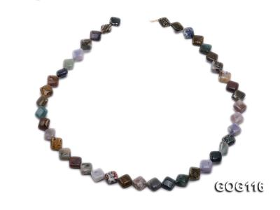 Wholesale 8mm Colorful Square Gemstone String GOG116 Image 4