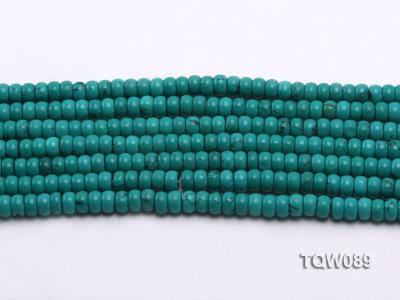Wholesale 4x6mm Blue Turquoise Beads String TQW089 Image 2