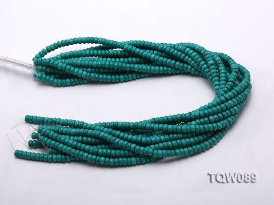 Wholesale 4x6mm Blue Turquoise Beads String TQW089 Image 3