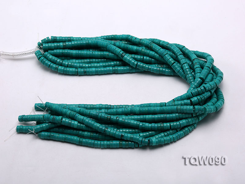 Wholesale 3x6.5mm Blue Turquoise Beads String big Image 3
