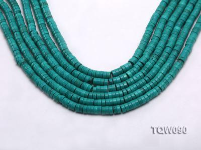 Wholesale 3x6.5mm Blue Turquoise Beads String TQW090 Image 1