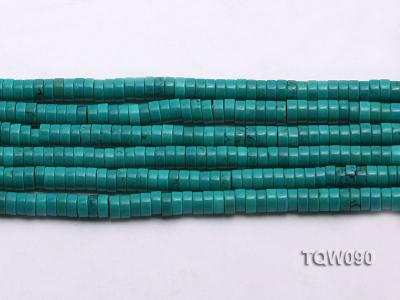 Wholesale 3x6.5mm Blue Turquoise Beads String TQW090 Image 2