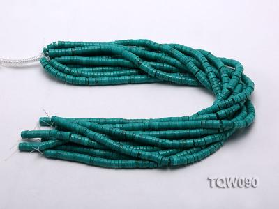 Wholesale 3x6.5mm Blue Turquoise Beads String TQW090 Image 3