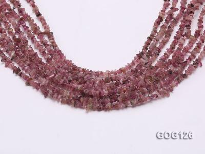 Wholesale 3-5mm Colorful Tourmaline Gravel String GOG126 Image 1