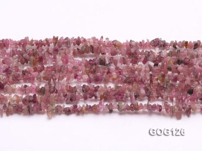 Wholesale 3-5mm Colorful Tourmaline Gravel String GOG126 Image 2
