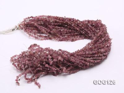Wholesale 3-5mm Colorful Tourmaline Gravel String GOG126 Image 3