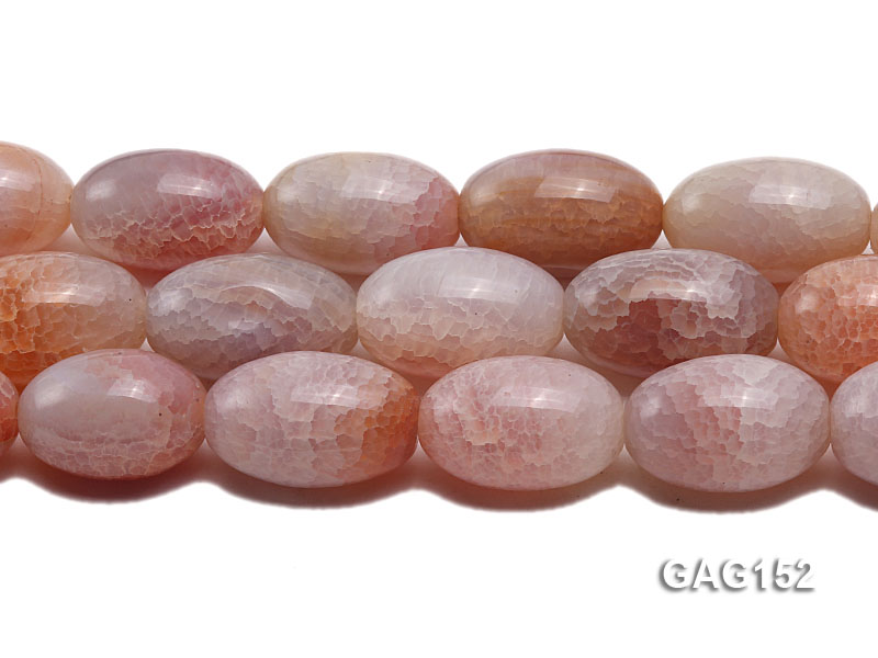 wholesale 18x30mm oval agate strings big Image 2
