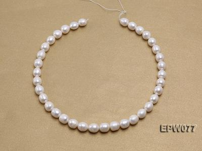 Wholesale 7x8mm A grade White Rice-shaped Freshwater Pearl String EPW077 Image 3
