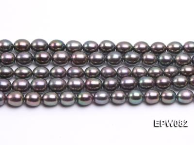 Wholesale High-quality 7x8mm  Rice-shaped Freshwater Pearl String EPW082 Image 2