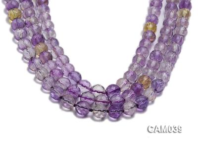 Wholesale 8mm Round Translucent Faceted Amerine Beads String CAM039 Image 1