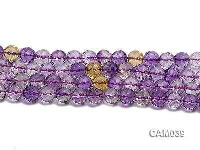 Wholesale 8mm Round Translucent Faceted Amerine Beads String CAM039 Image 2