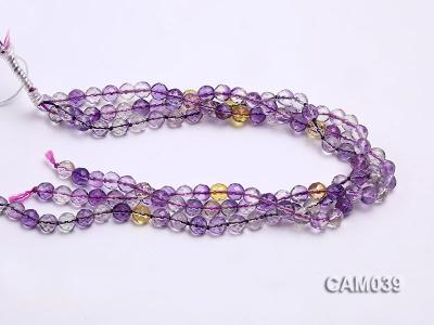 Wholesale 8mm Round Translucent Faceted Amerine Beads String CAM039 Image 3