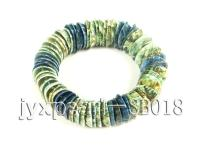 20x14mm Colorful Shell Elasticated Bracelet SB018