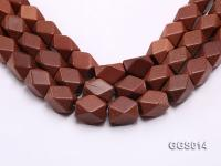 wholesale 16x22mm irregular Goldstone strings GGS014