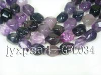 wholesale 12x16mm irregularly shaped fluorite semi-finished products GFL034