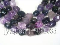 wholesale 12x14mm irregularly shaped fluorite semi-finished product GFL035