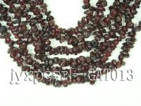 wholesale 6-7mm dark red garnet chip strings GAT013