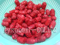 Wholesale16x20-20x30mm Loose Buddha-head-shaped coral beads. COL192