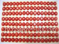 8x10mm bright red Loose Coral Beads COL195