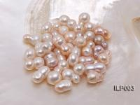 Wholesale 10.5X18-16X20mm Natural Pink Irregular Loose Freshwater Pearl ILP003