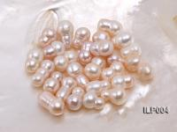 Wholesale 10.5x17-12x20mm Natural Pink Irregular Loose Freshwater Pearl  ILP004
