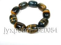 18x20mm Cylindrical Tigereye bracelet TEB010
