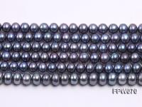 Wholesale 6.5x8mm  Flat Cultured Freshwater Pearl String FPW070