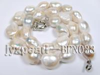 Baroque Pearl Necklace BPN038