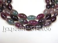 wholesale 14.5x30mm sub-shaped lock fluorite semi-finished product GFL036
