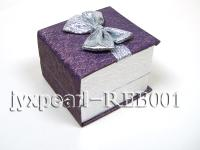 Lavender Ring & Earring Box REB001