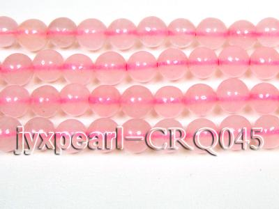 Wholesale 7mm Round Rose Quartz Beads String CRQ045 Image 2