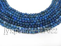 wholesale 3.5mm nature blue round AAA quality lapis-lazuli strings  GLP022