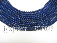 wholesale 4mm nature blue round AAA quality lapis-lazuli strings  GLP023