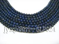wholesale 6mm nature blue round AAA quality lapis-lazuli strings  GLP024