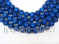 wholesale 16mm blue round AAAAA quality lapis-lazuli strings  GLP027