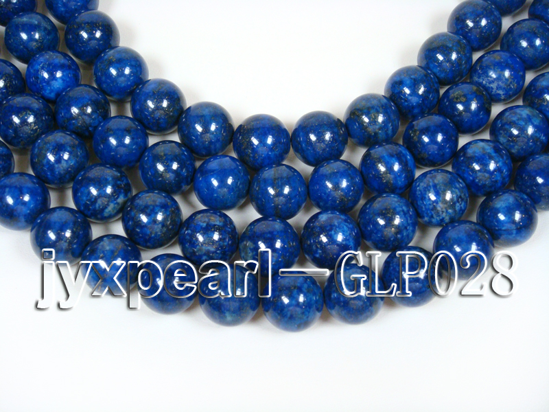 wholesale 18mm nature blue round AAAA quality lapis-lazuli strings  big Image 1