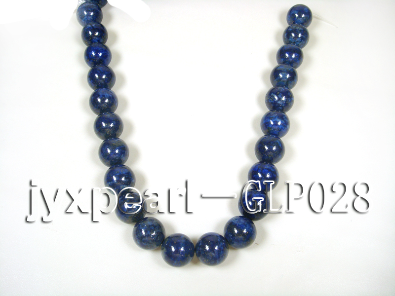 wholesale 18mm nature blue round AAAA quality lapis-lazuli strings  big Image 3