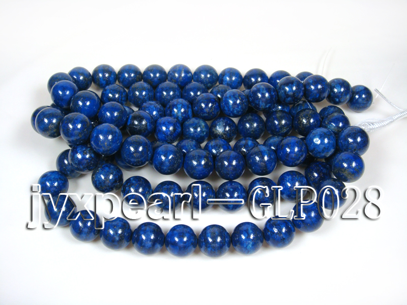 wholesale 18mm nature blue round AAAA quality lapis-lazuli strings  big Image 4