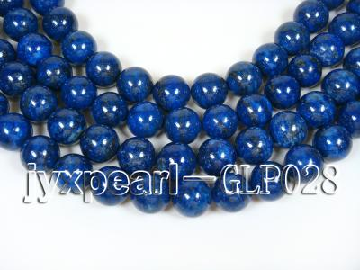 wholesale 18mm nature blue round AAAA quality lapis-lazuli strings  GLP028 Image 1