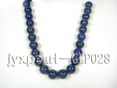 wholesale 18mm nature blue round AAAA quality lapis-lazuli strings  GLP028 Image 3