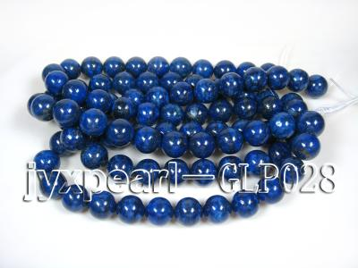 wholesale 18mm nature blue round AAAA quality lapis-lazuli strings  GLP028 Image 4