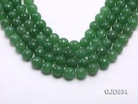 Wholesale 12mm Round Faceted Aventurine String GJD034