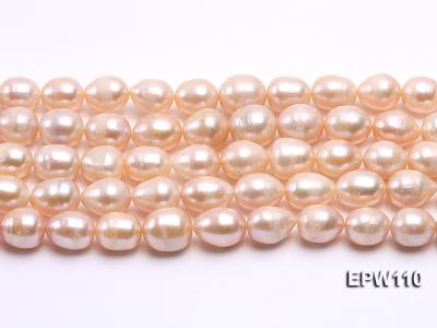 Wholesale 11x14mm Pink Rice-shaped Freshwater Pearl String EPW110 Image 1
